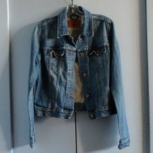 Levi's L Denim Jacket Blue Wash